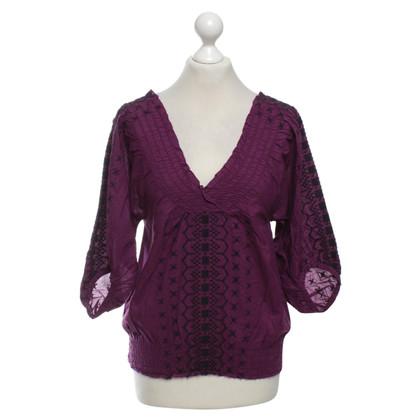 Comptoir des Cotonniers Lilac blouse