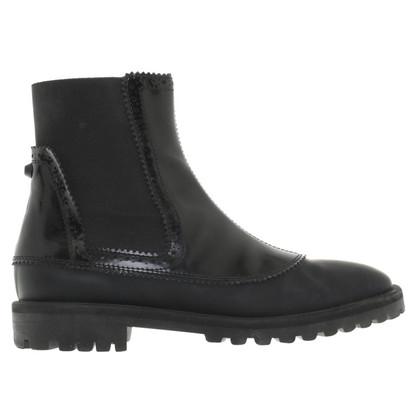 Balenciaga Chelsea boots in black