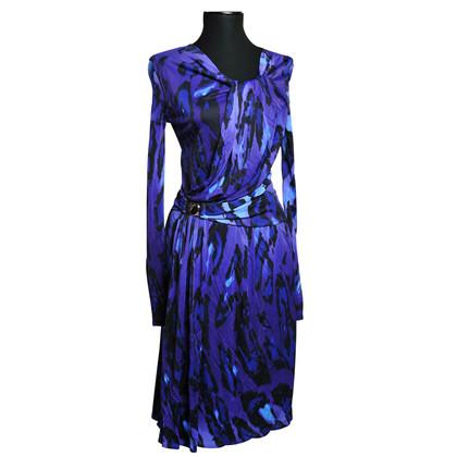 Versace animal print dress