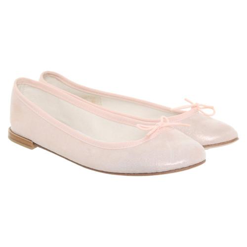 bd3df5b440ee8 Pretty Ballerinas Slipper/Ballerinas aus Leder in Rosa / Pink ...