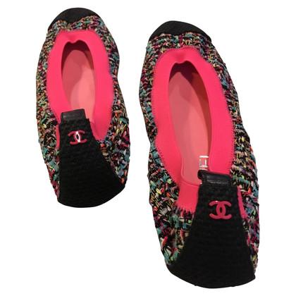 Chanel Ballerinas in Multicolor