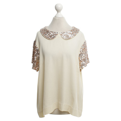 By Malene Birger Top in crème