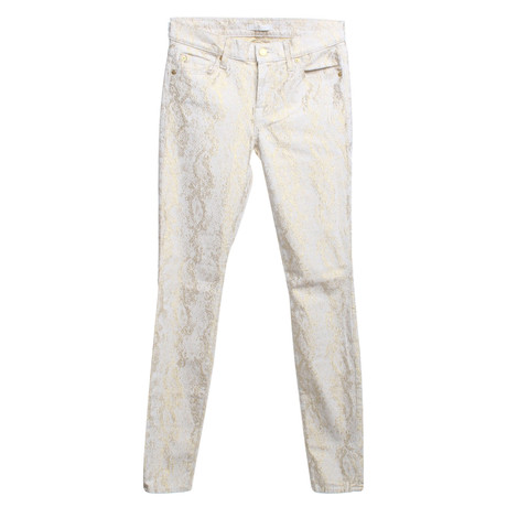 7 For All Mankind Hose in Bicolor Bunt / Muster