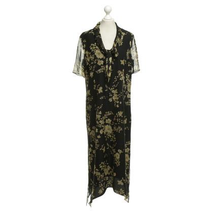Marina Rinaldi Silk dress with pattern