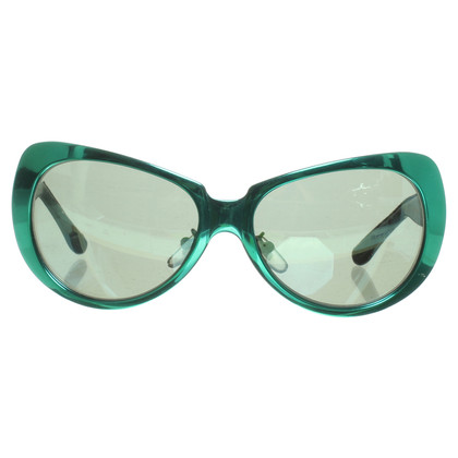 Versace Metal sunglasses Green