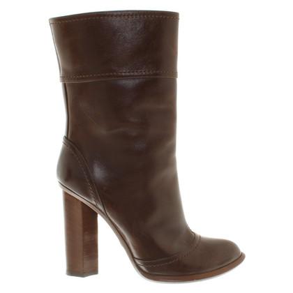 Dolce & Gabbana Leren laarzen in bruin
