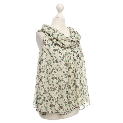 Anna Sui Blouse top met een bloemmotief