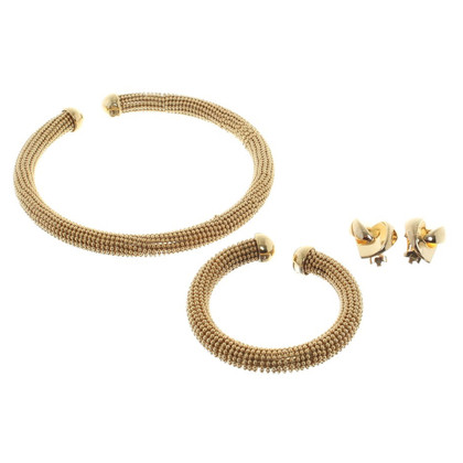 Christian Dior Jewelry in gold colors
