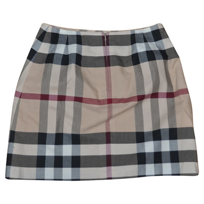 Burberry Rock mit Nova-Check-Muster