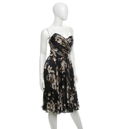 Dolce & Gabbana zijden jurk met een bloemmotief