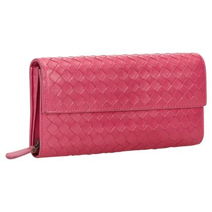 Bottega Veneta Intrecciato Lange Wallet