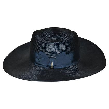 Borsalino Blauwe hoed