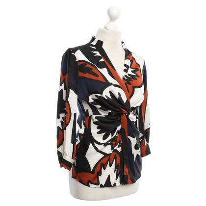 "Diane von Furstenberg Blouse ""Nadina"" with pattern"