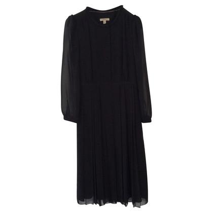Burberry Kleid in Seide schwarz