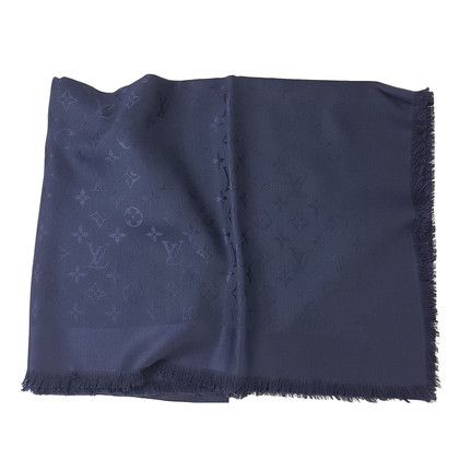 Louis Vuitton Louis Vuitton Shawl Monogram Night Blue