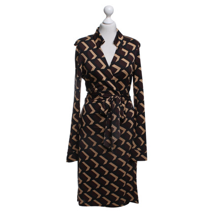 Diane von Furstenberg wrap dress Multi-color