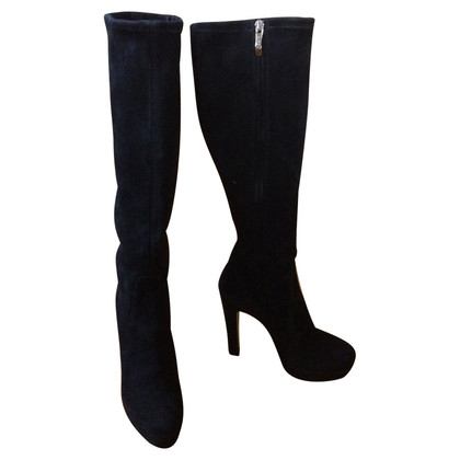 Gianmarco Lorenzi Suede leather boots