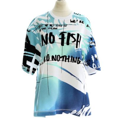 """Kenzo Sweater """"No. fish"""""""