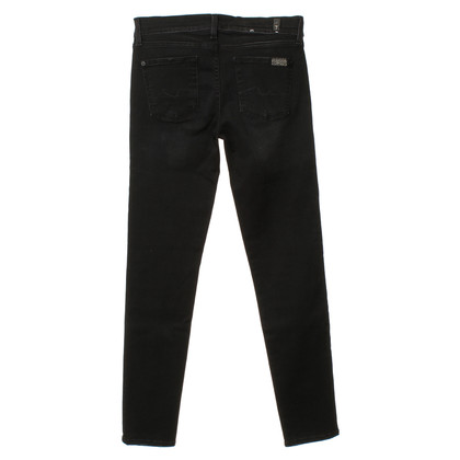 7 For All Mankind Jeans gris foncé