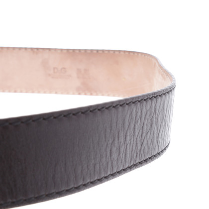 D&G Belt dark brown