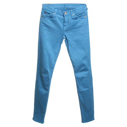7 For All Mankind Hose in Hellblau