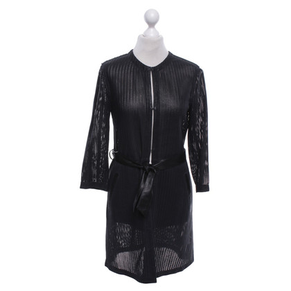 Drome Leather coat in black