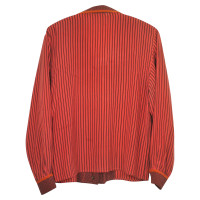 Other Designer Louis Féraud - silk blouse with pattern