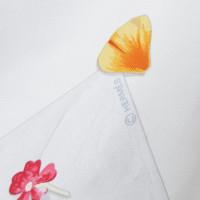 Hermès Silk scarf with floral print