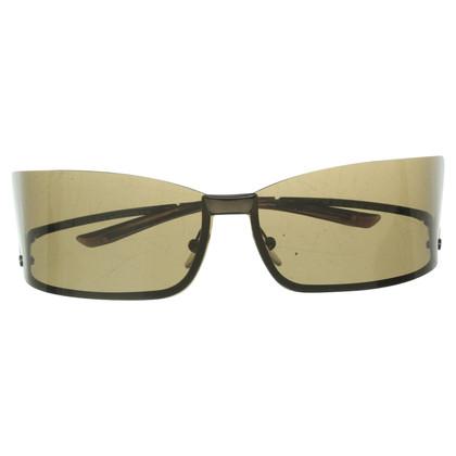 Gucci Occhiali da sole con gli occhiali stravaganti