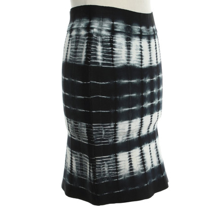 BCBG Max Azria skirt with batik pattern