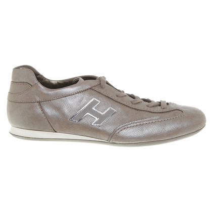 Hogan Sneakers in Taupe