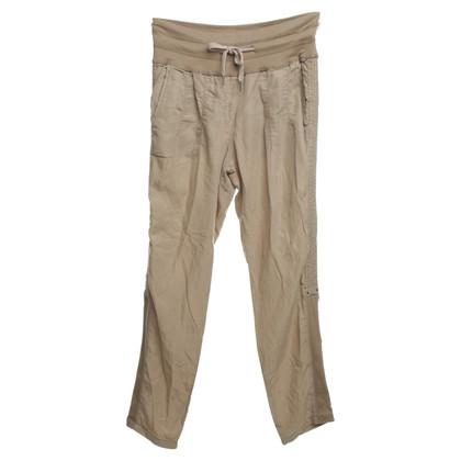 Marc Cain Lightweight pants in Beige