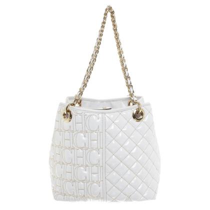 Carolina Herrera Handtasche in Weiß