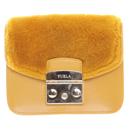 "Furla Shoulder bag ""Metropolis"" in yellow"