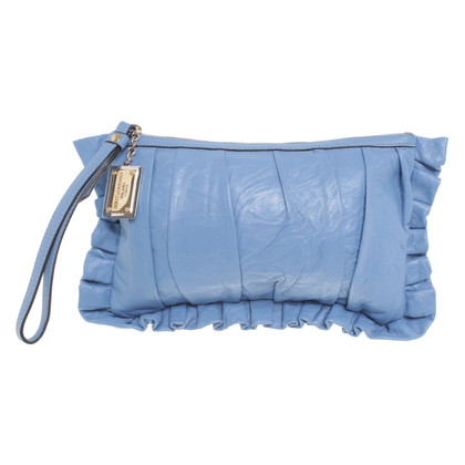 Dolce & Gabbana clutch in azzurro