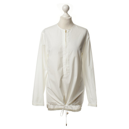 Halston Heritage Bluse in Weiß
