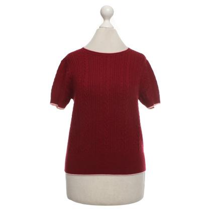Tara Jarmon Short-sleeved wool sweater
