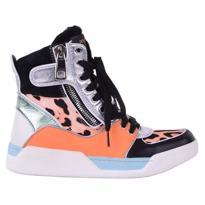 Dolce & Gabbana High-top sneakers in Orange