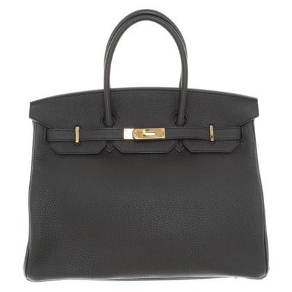 """Hermès """"Birkin Bag 35"""" de Clemence cuir"""
