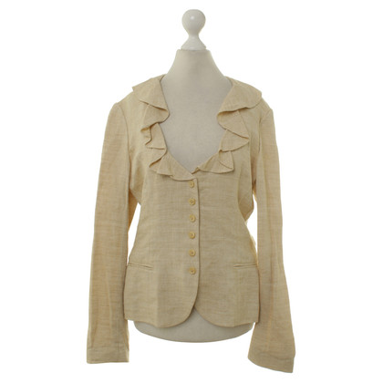 Ralph Lauren Black Label Blazer con finiture in pizzo