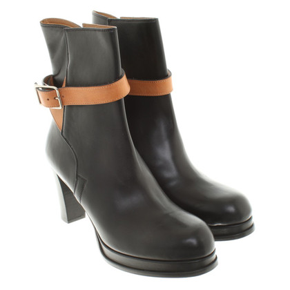 Acne Leather Bootees