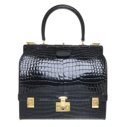 Hermès Sac Mallette from crocodile leather