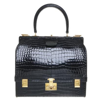 Hermès Sac Mallette van krokodillenleer