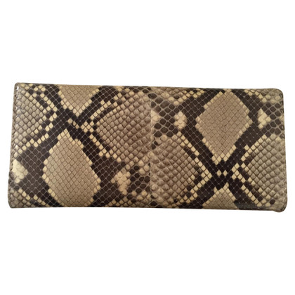 Prada Wallet of phyton leather