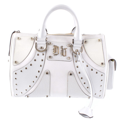 Versace Leather bag with rivets