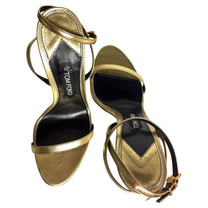 Tom Ford Golden sandals