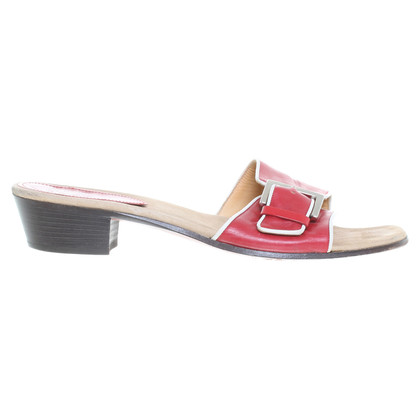 Ludwig Reiter Sandals in red