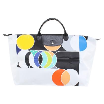 Longchamp Shoppers met grafische print