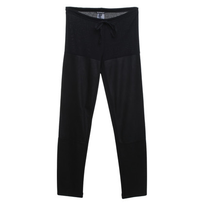 Ann Demeulemeester trousers in leggings style