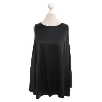 Halston Heritage Silk blouse in black